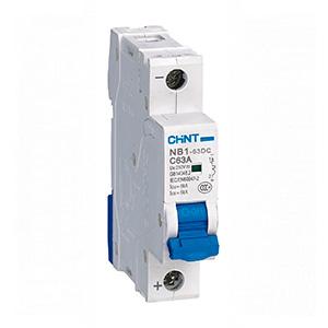 Автоматические выключатели постоянного тока NB1-63DC